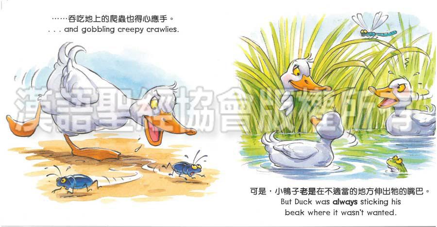 圣经动物园系列-小鸭呱呱叫