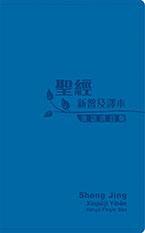《聖經‧新普及譯本‧漢語拼音版》繁體‧皮面